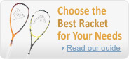 Choose the best squash racket for your needs